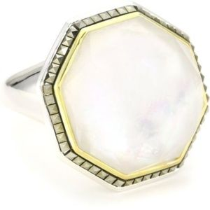 JUDITH JACK Sterling Silver/ Mother of Pearl #1